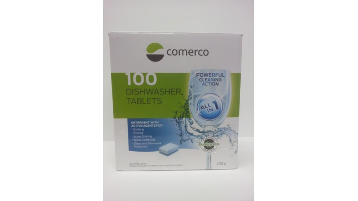 Dishwasher Tabs 100 pack comerco